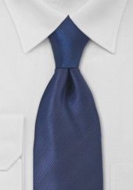 Dark Blue Mens Necktie