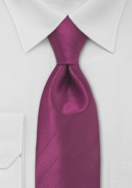 Magenta Red Necktie