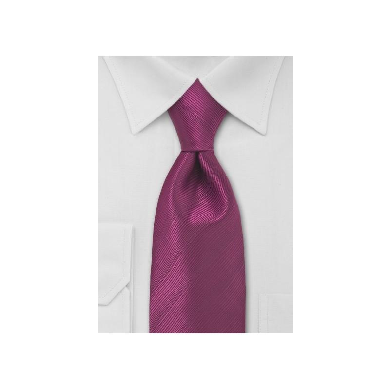 Magenta Red Necktie
