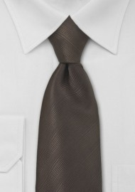 Coffee Brown Mens Tie