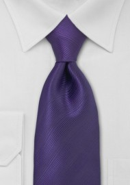 Bright Eggplant Purple Tie