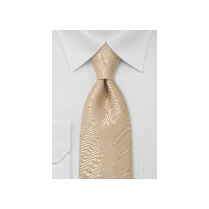 Champagne Beige Necktie
