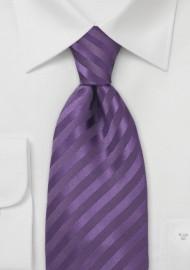 Mens Tie in Lapis-Purple