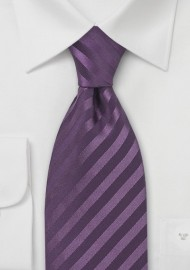 Light Eggplant Silk Tie