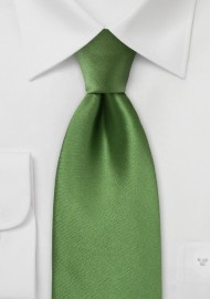 Rich Moss Green XL Tie