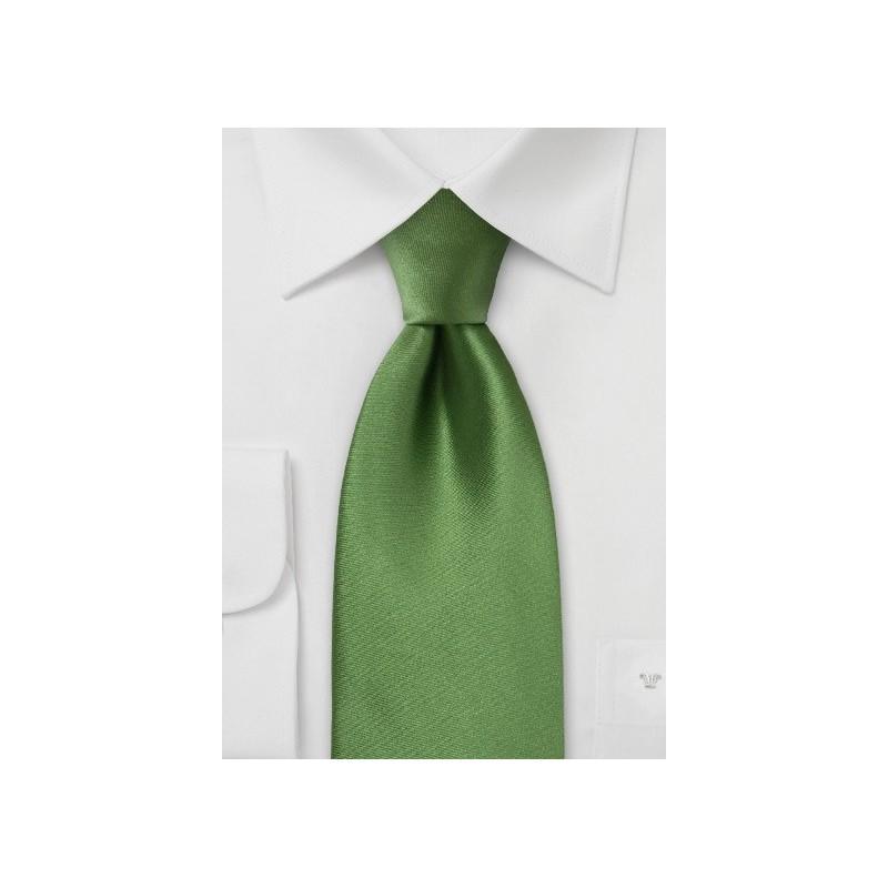 Rich Moss Green Kids Tie