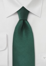 Bright Hunter Green Tie in XL