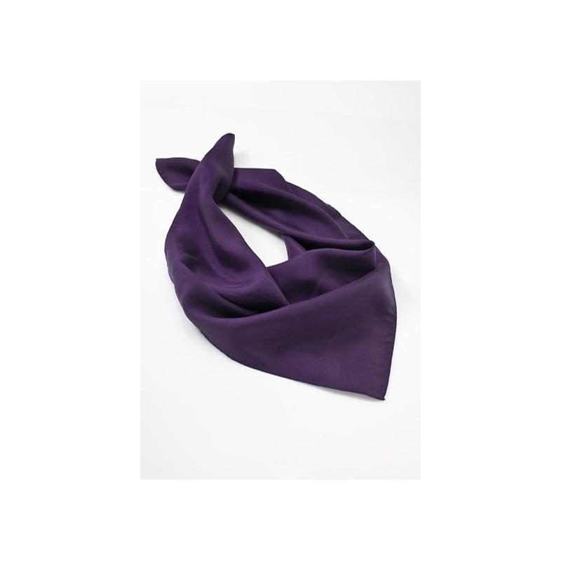 Purple Silk Womens Scarf