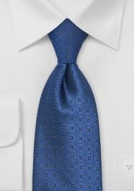 Sapphire Blue Designer Tie