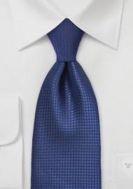 Sapphire Blue Mens Tie