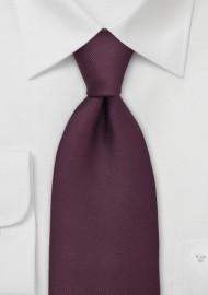 Burgundy Textured Tie