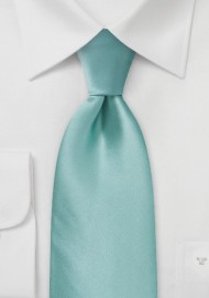 Kids Tie in Mint Green