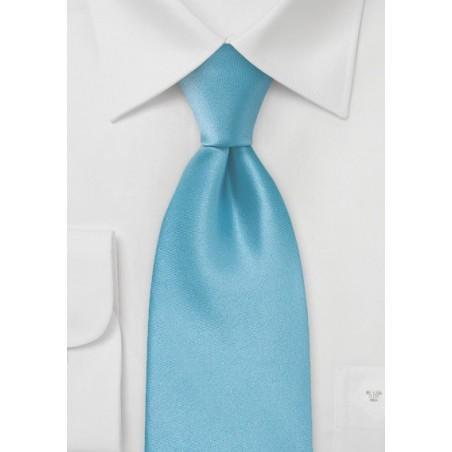 XL Malibu-Blue Silk Tie