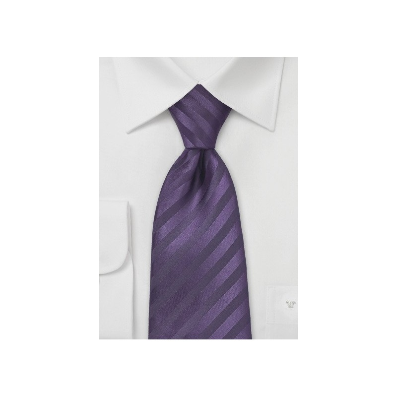 Two Toned Purple Tie