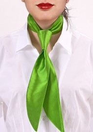 Lime Green Womens Neck Tie