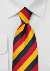 Germany Soccer Fan Tie