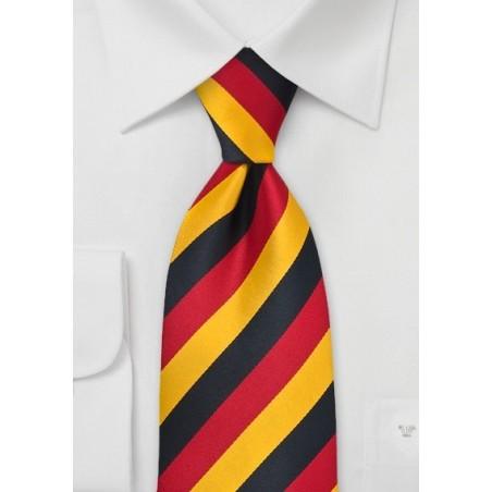 Germany Soccer Fan Tie