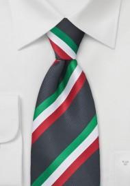 Italy Soccer Fan Tie