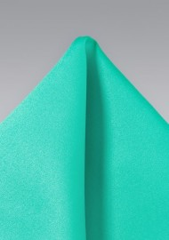 Jade Green Pocket Square
