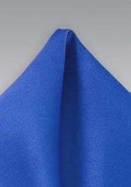 Azure Blue Pocket Square