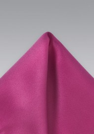 Magneta Pink Pocket Square