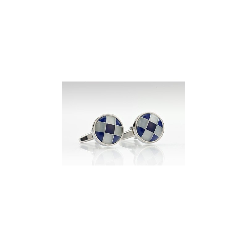 Modern Marble Cufflinks