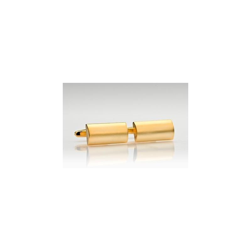 Domed Gold Cufflinks
