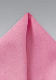 Bright Pink Pocket Square