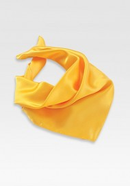 Bright Yellow Womens Scarf
