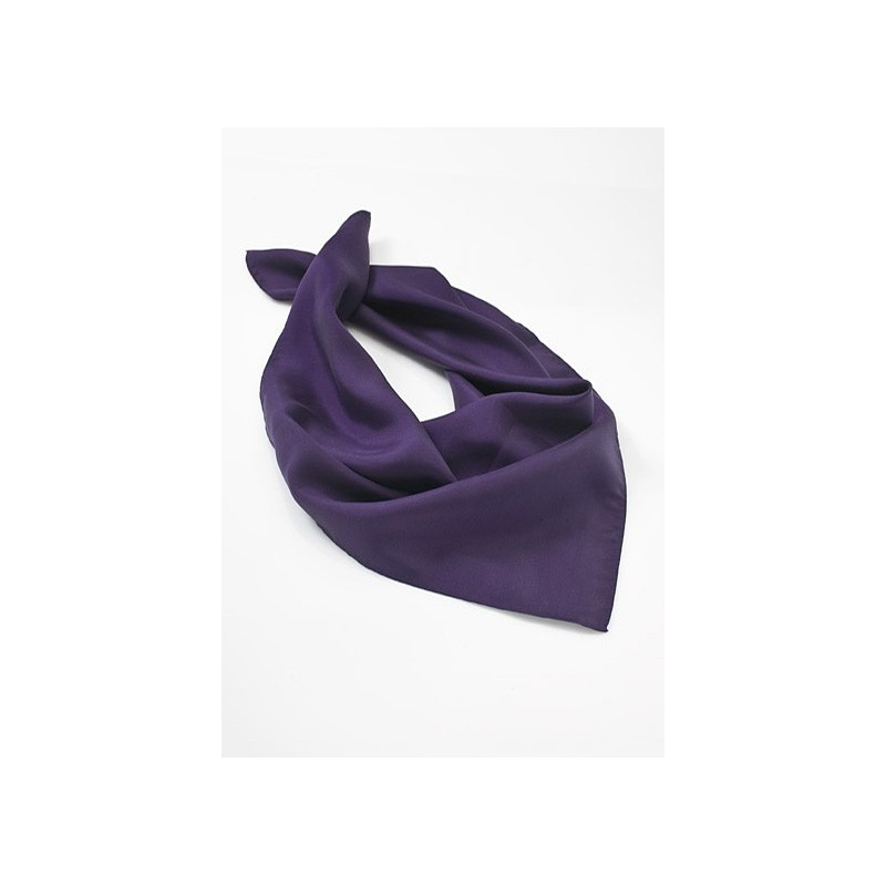 Solid Purple Womens Scarf