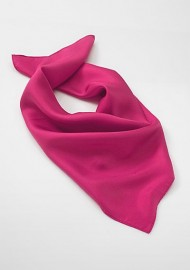 Solid Magenta Pink Scarf