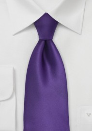 Solid Purple Tie