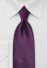 Berry Purple Kids Neck Tie