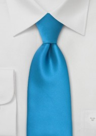 Ice Blue Kids Necktie