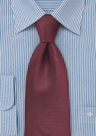 Classic Burgundy Patterned Tie