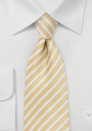 Kids Necktie in Harvest Yellow