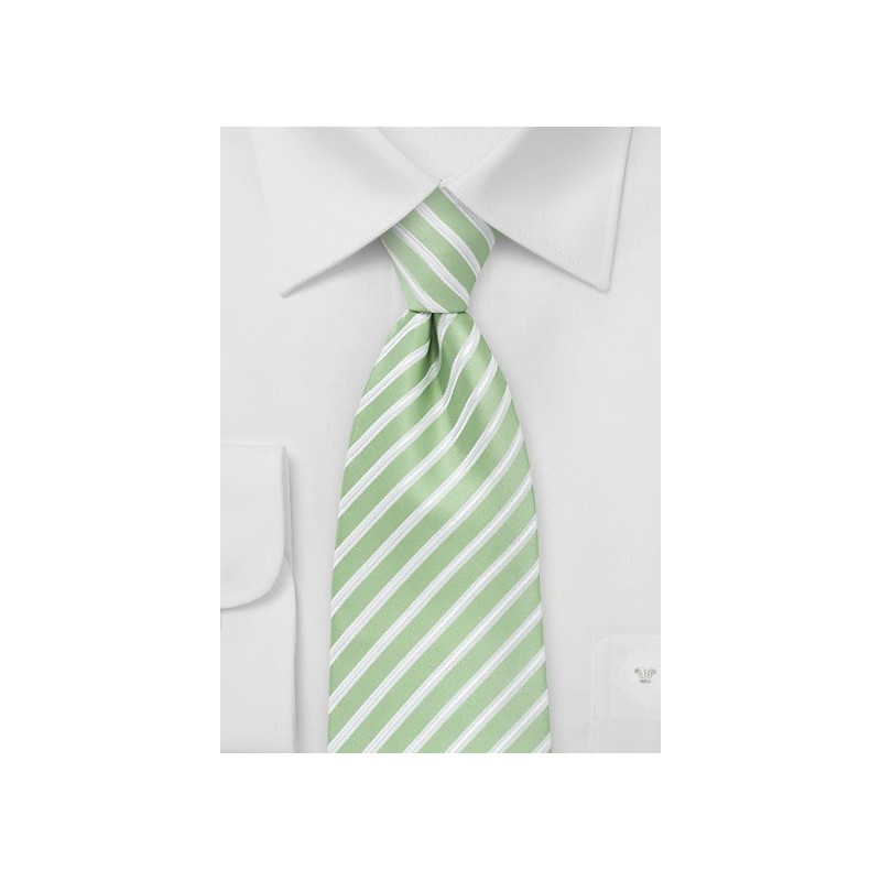 Seafoam Green Extra Long Tie