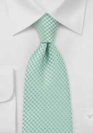 Kids Designer Neck Tie in Clover Green