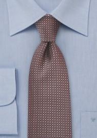 Regal Tie in Bronze and Gold