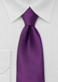 Bright Purple Necktie in Boys Size