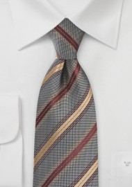 Urban Tie in Charcoal, Copper and Bronze
