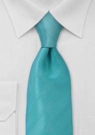 Oasis Blue Mens Tie in XL Length