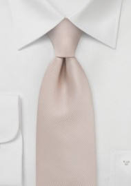 Golden Tan Necktie in Longer Size