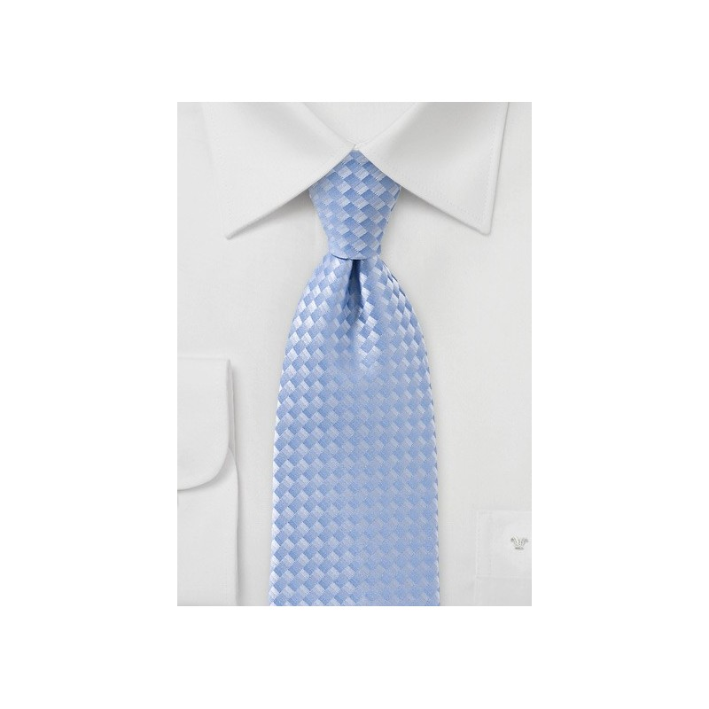 Tonal Blue Tie in Fair Weather Blue