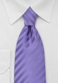 Solid Lavender-Purple Kids Tie