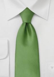 Fern Green Tie for Kids