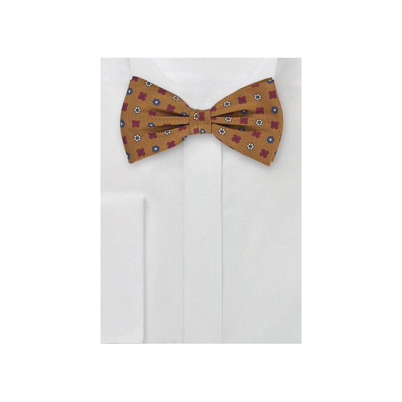 Geometric Bow Tie in Copper