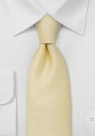 Lemon Yellow Tie for Kids