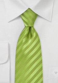 Kids Apple Green Tie