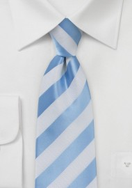 Kids Baby Blue and White Tie